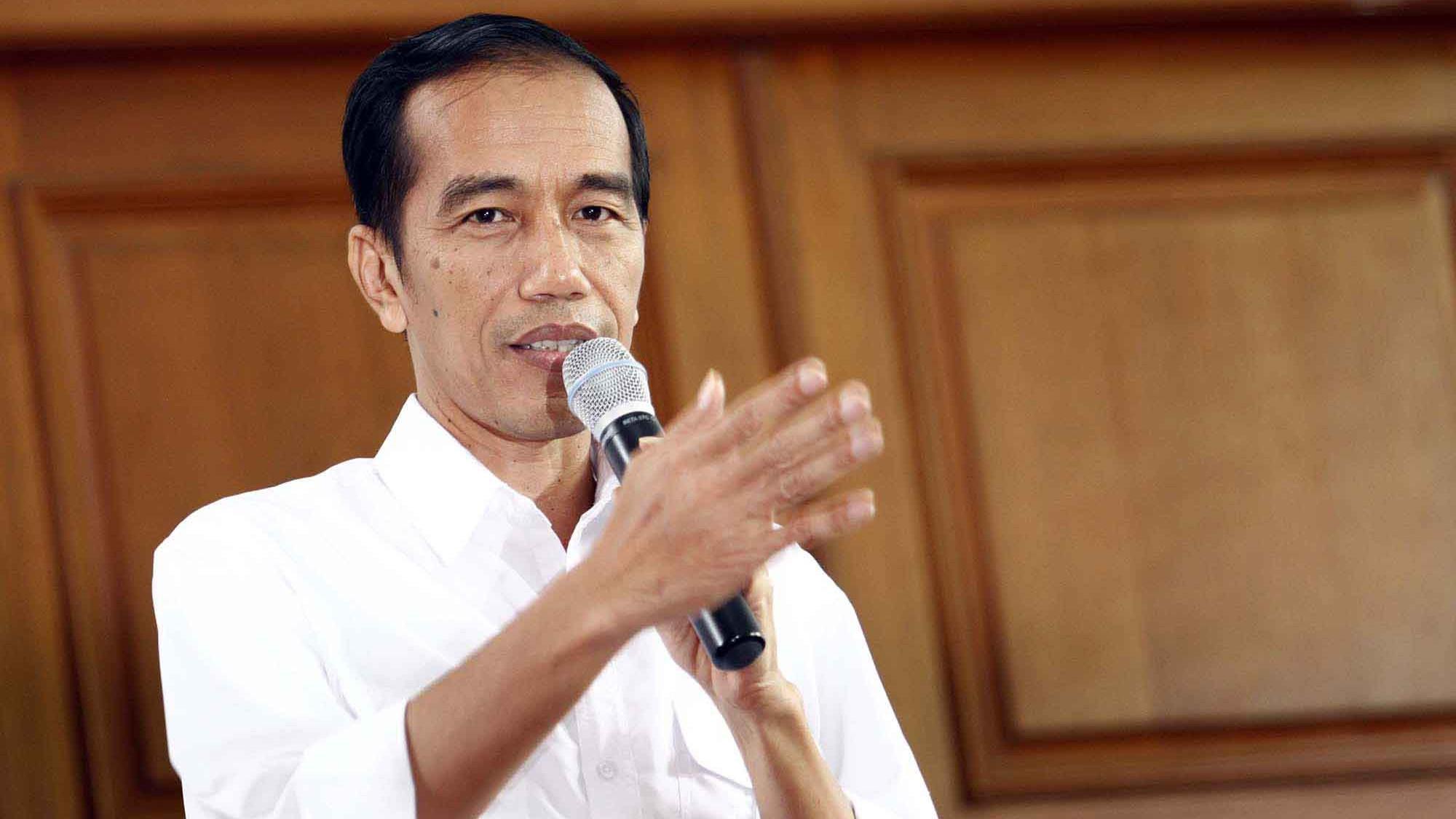 Presiden RI, Joko Widodo (stock)