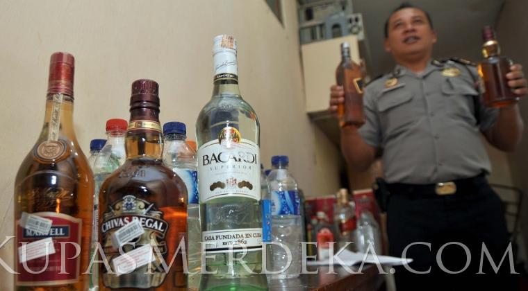 Polda Jabar Segera Check Kebenaran Kadar Alkohol Produsen Miras