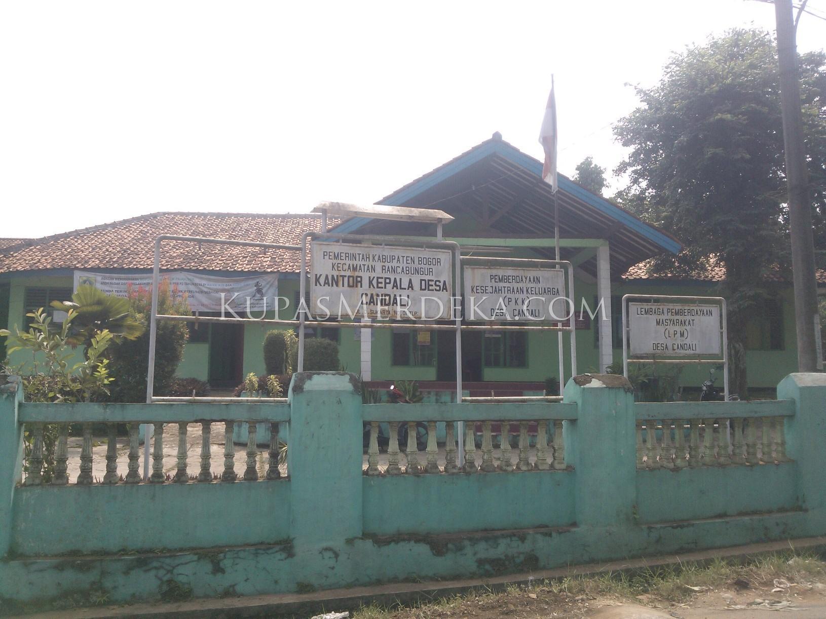 kantor desa candali