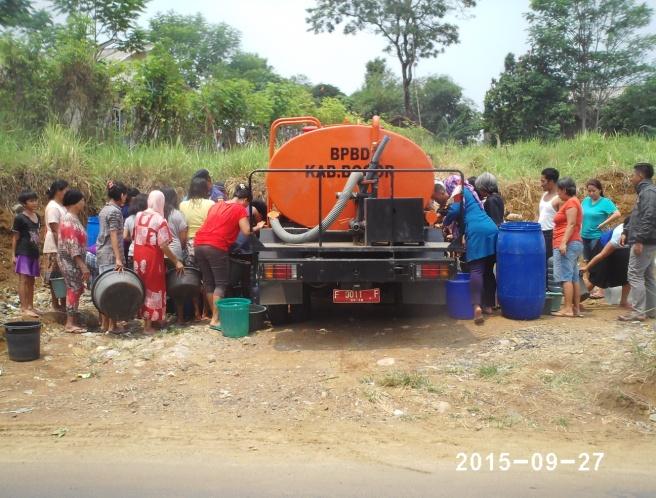 bantuan air bersih di cibungbulang