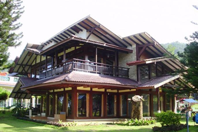 VIlla di Hotel Alfa Resort, Puncak, yang diduga berada di atas tanah Negara