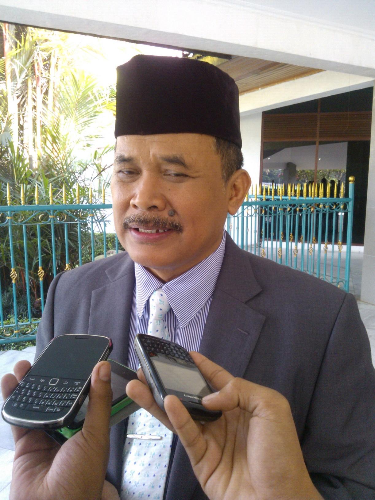 Kepala BKPP Dadang Irfan di Bogor (oik. KM)