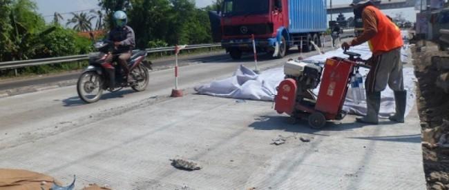 betonisasi jalan