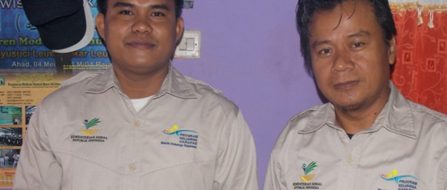 Pegawai PKH dinas Sosial Kecamatan Cigudeg