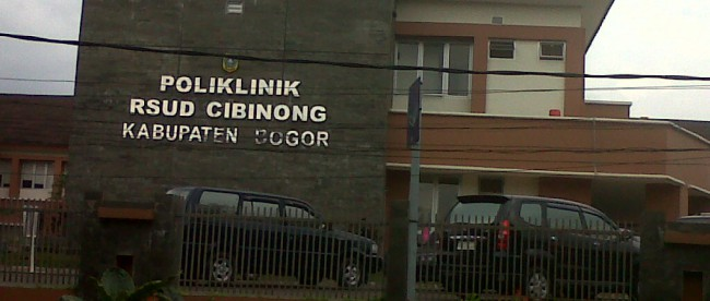 RSUD Cibinong, Kabupaten Bogor.