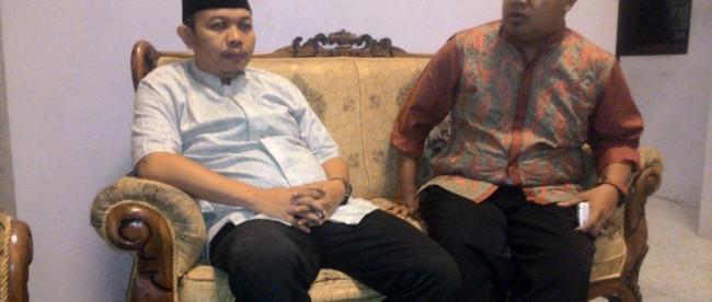 Ketua dan Wakil ketua GP Ansor Bogor