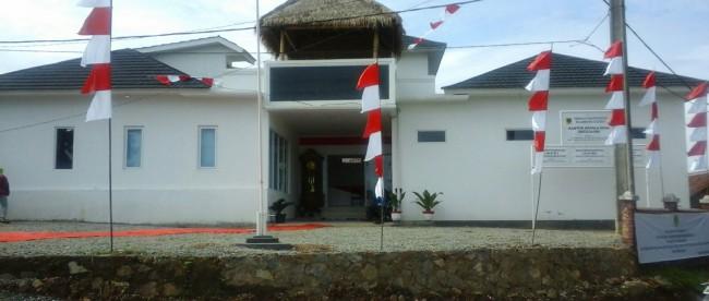Kantor Kepala Desa Batujajar yang baru di Desa Batujajar, Kecamatan Cigudeg. (dok. KM)