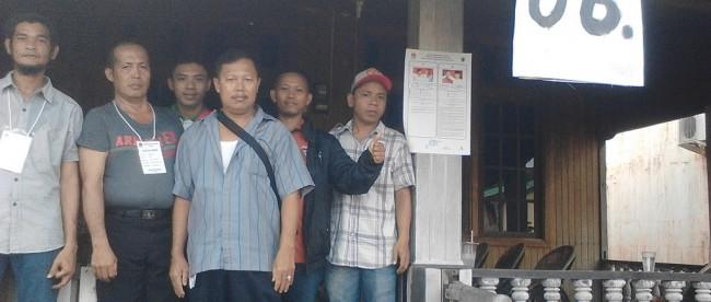 Suasana saat pilkada di Desa Hilir, Kabupaten Kapuas Hulu Kalimantan Barat (dok. KM)