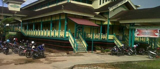 Rumah Adat Melayu di Kapuas Hulu (dok. KM)