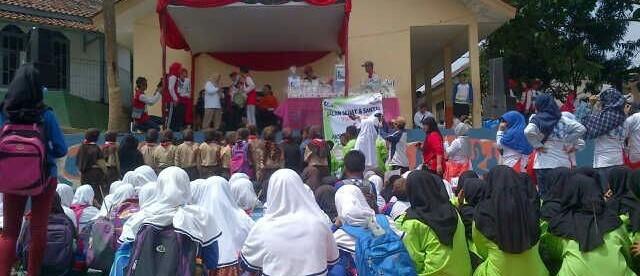 Peserta reuni akbar SMPN1 Cicurug, Sukabumi (dok. KM)