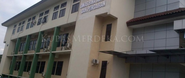 Kantor Dinas Bina Marga dan Pengairan (DBMP) Kabupaten Bogor di Cibinong, Bogor (dok. KM)
