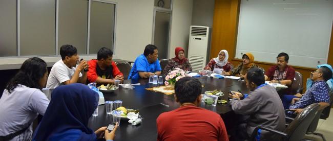 Kepala Dinas kesehatan Kabupaten Bogor, Camalia Wilayat Sumaryana saat jumpa pers, Jumat (22/1/16) (dok. KM)