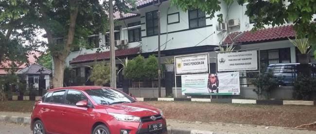 Kantor Dinas Pendidikan Kabupaten Bogor (stock)