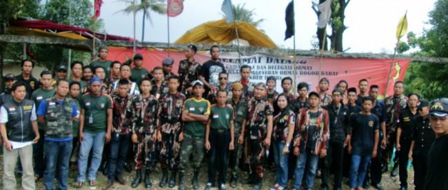 Anggota Ormas yang tergabung dalam Sekretariat Bersama Ormas Bogor Barat (dok. KM)