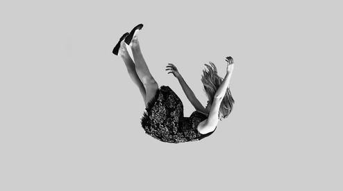 ilustrasi jatuh