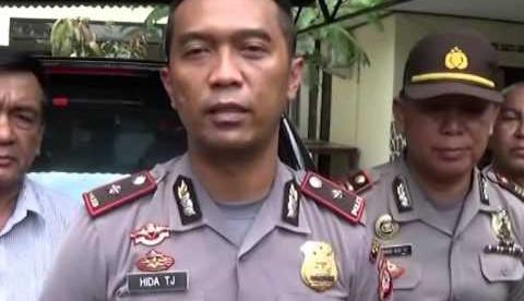 Kapolsek Cibinong, Kompol Hida Tjahjono (dok. KM)