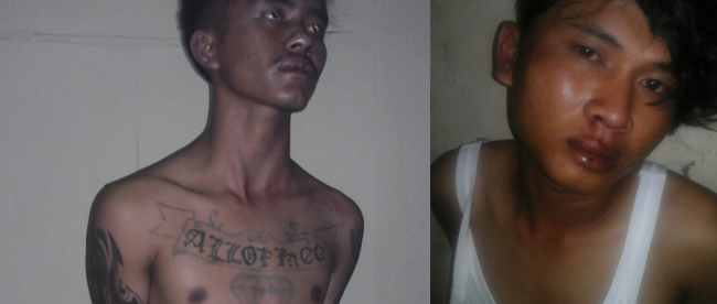 Syahrian, 23 (kiri) dan Rizal, 20, pelaku curas motor yang berhasil diamankan oleh Polres Cibungbulang (dok. KM)