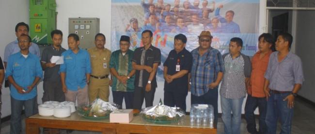 Syukuran Hari Pers Nasional oleh Kelompok Kerja Wartawan DPRD Kabupaten Bogor bersama Ketua DPRD, Jaro Ade (dok. KM)