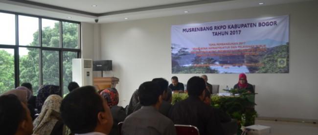 Musrenbang RKPD Kabupaten Bogor 2017 di CIbinong, 2/1 (dok. KM)