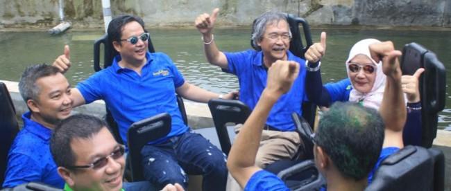 Peresmian wahana Hydrolift baru di Jungleland Theme Park, Sentul 6/3 (dok. KM)