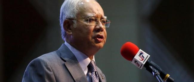 Perdana Menteri Malaysia, Najib Tun Razak (dok. REUTERS/Olivia Harris/Files)