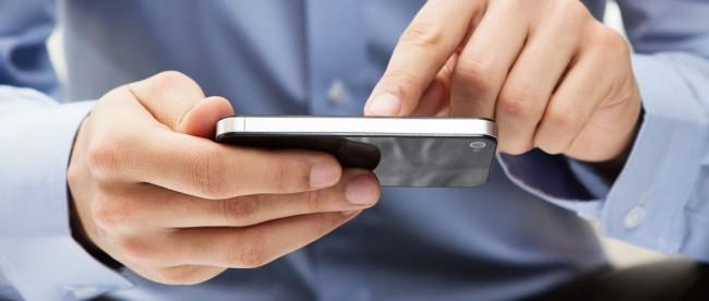 Ilustrasi pengiriman SMS