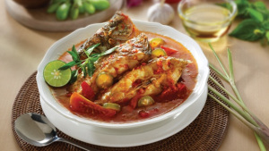 Ikan Asam Pedas, salah satu kuliner khas Pontianak (dok. KM)