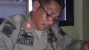 Kasie Dalops Pol PP Kabupaten Bogor, Ruslan (dok. KM)