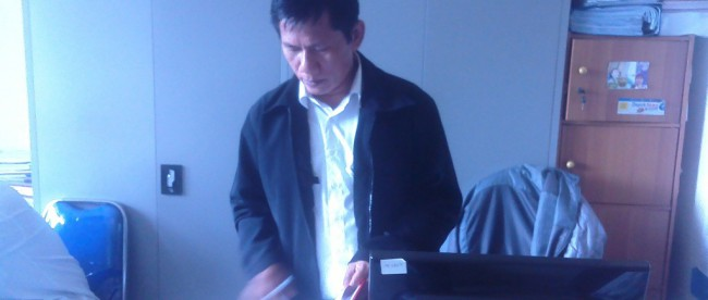Kepala UPT Pendidikan Kecamatan Cimanggis, Drs. Mulyadi MM (dok. KM)
