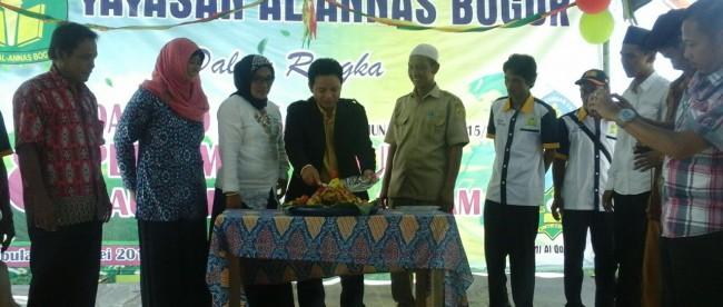 Peresmian MI Al Qolam, Yayasan Al-Annas, Cibungbulang 18/5 (dok. KM)