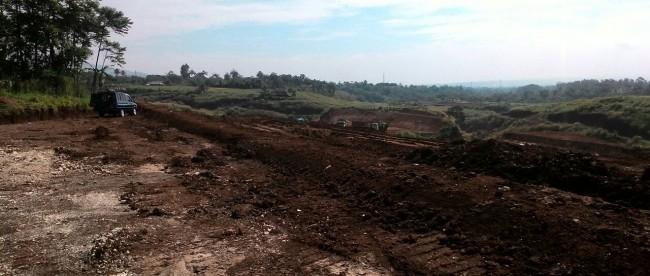 Proyek pembangunan Jalan tol Ciawi-Sukabumi (tol Bocimi) (dok. KM)