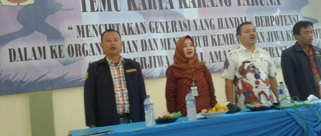 Temu Karya Karang Taruna Caringin, Bogor Kamis 19/5 (dok. KM)