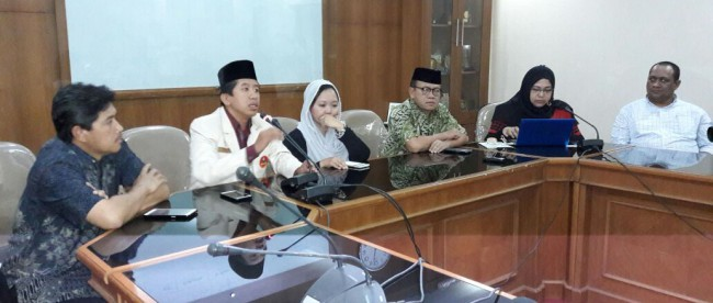 Konferensi pers yang digelar oleh PERADI di Gedung PP Muhammadiyah, Jakarta Rabu 15/6 (dok. KM)