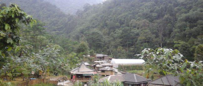 Taman wisata Cipanas Karang Endah, Desa Ciasmara Kecamatan Pamijahan Kabupaten Bogor (dok. KM)