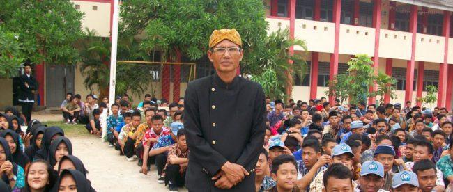 Kepsek SMKN 5 Mauk, Kab. Tangerang, Kamsono (dok. KM)