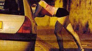 PSK menjajakan dirinya di pinggir jalan (ilustrasi)