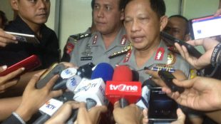 Kapolri Tito Karnavian memberikan keterangan kepada pers di Gedung DPR-RI, Senin 5/9 (dok. Indra/KM)