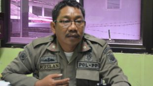 Kasie Dalops Pol PP Kab. Bogor, Ruslan (dok. KM)