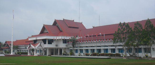 Kantor Bupati Barito Selatan, Kalimantan Tengah (dok. Arief Rahman Saan/Wikimedia)