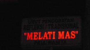 Panti Pijat Melati Mas di Cipayung, Jakarta Timur yang diduga mencuri listrik dan menyuap aparat (dok. KM)