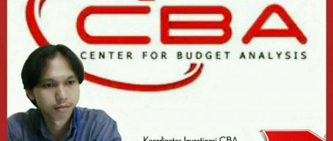 Jajang Nurjaman, Koordinator Investigasi Center For Budget Analysis (CBA) (dok. KM)