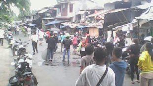 Tawuran yang pecah di RT 12/03 Kelurahan Manggarai, Tebet, Jakarta Selatan (dok. KM)