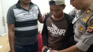 Kedapatan membawa dan memakai Narkoba jenis Ganja, YH (22), ditangkap Kepolisian Sektor Jasinga (dok. KM)