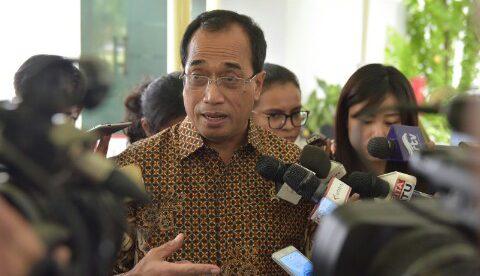Menteri Perhubungan Budi Karya Sumadi, Rabu 17/7/2017 (dok. KM)