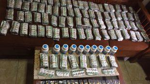 Barang bukti obat-obatan Golongan G yang diperjualbelikan dengan bebas secara ilegal yang berhasil diamankan oleh Satuan Narkoba Polres Bogor, Sabtu 22/7 (dok. KM)