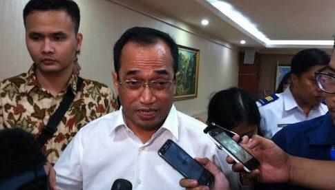 Menteri Perhubungan, Budi Karya Sumadi (stock)