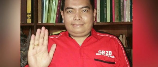 Ketua Dewan Pembina Gerakan Rakyat Bogor Bersatu (GR2B), Harry Ara Hutabarat (dok. KM)