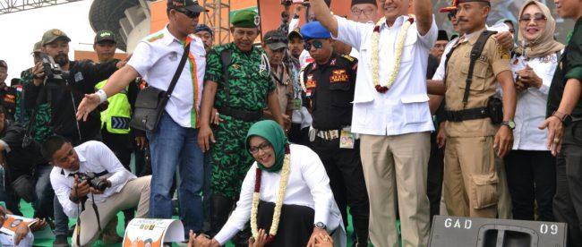 Bimbingan ulama sangat penting dalam membangun Kabupaten Bogor, bagi Paslon 2 Ade Yasin-Iwan Setiawan (HADIST) waktu kunjungan ke Pondok Pesantren se-wilayah Kabupaten Bogor, Selasa (20/03/2018) (dok. KM)