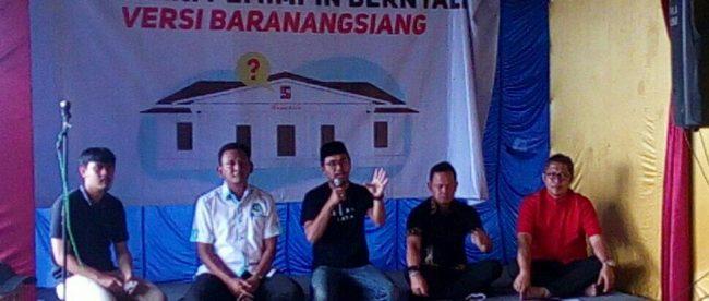Para Calon Walikota Bogor saat menghadiri diskusi publik tentang Terminal Baranangsiang, Minggu 4/3/2018 (dok. KM)