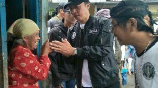 Calon Wakil Walikota Bogor Dedie A Rachim Saat Menyapa Warga Muarasari Kecamatan Bogor Selatan Kota Bogor (DOK.KM)